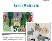 Farm Animals Quiet Book P...