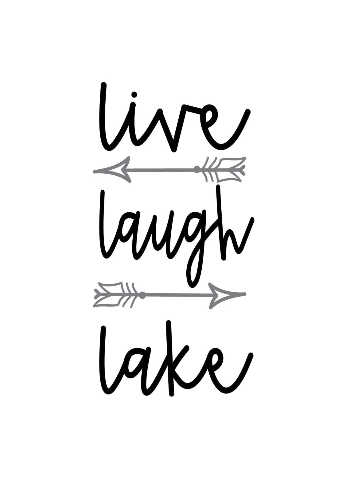 Download Live Laugh Lake SVG Digital Cut File from TsToPlease on ...