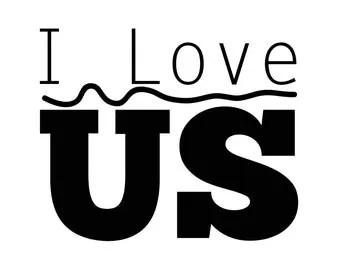 Download I love us svg   Etsy