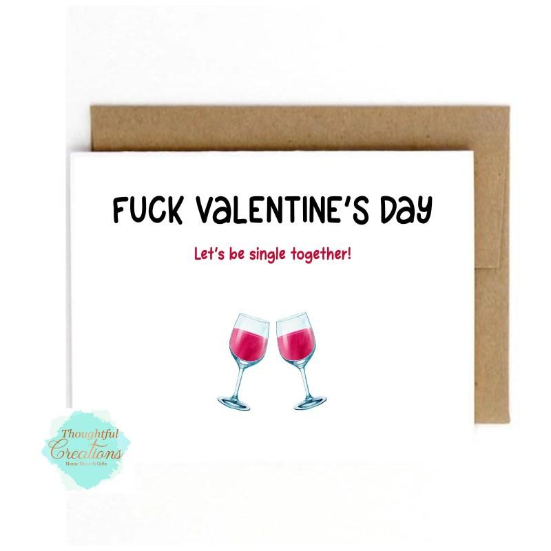 Anti Valentines Day Card,...