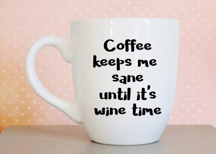 Coffee Cup Gift for Wine ...