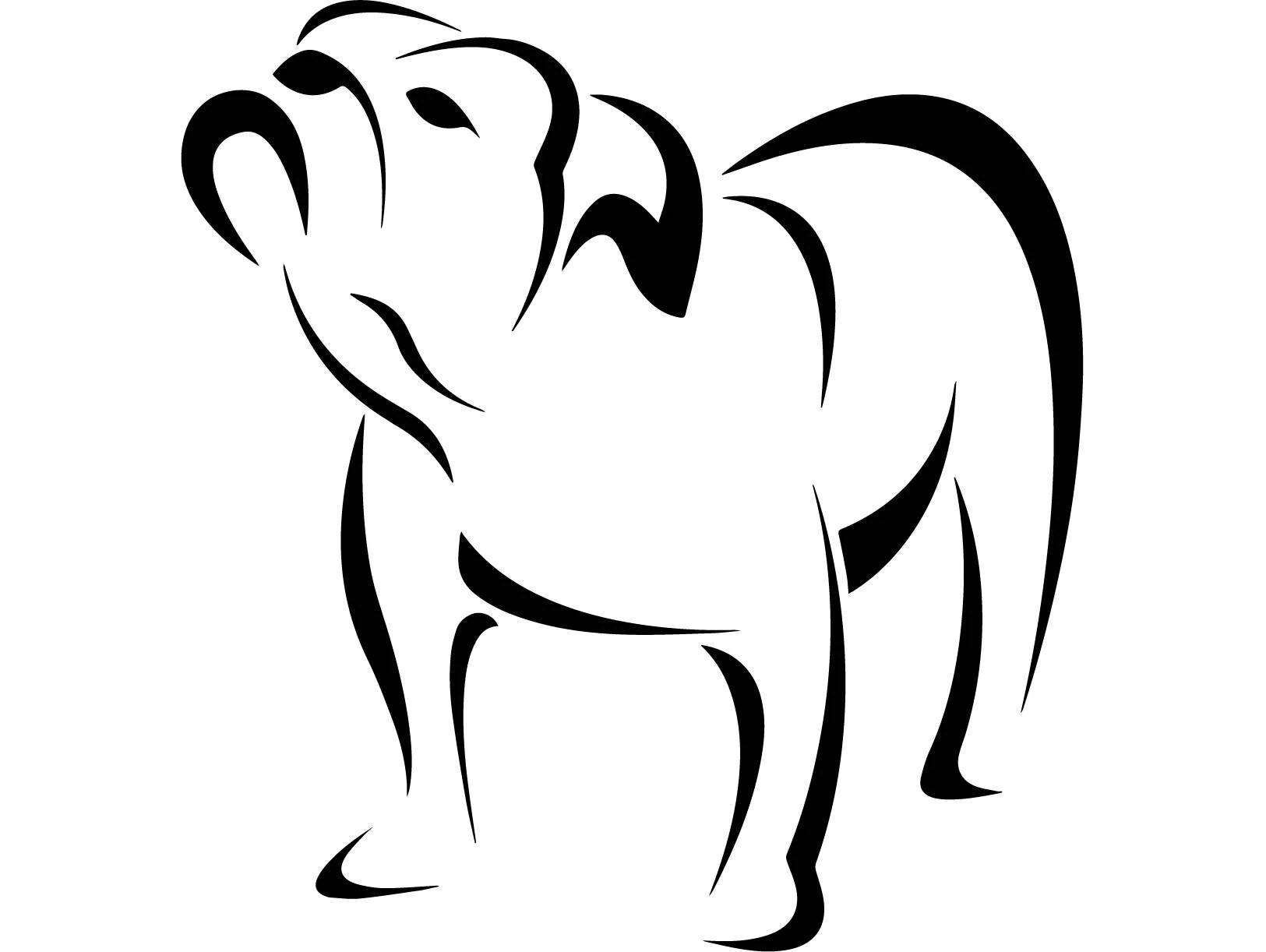 English Bulldog 9 American Mascot Head Spiked Collar Dog