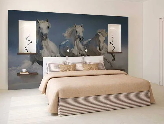 Horse Wall Decal Mural by ZestPhotography