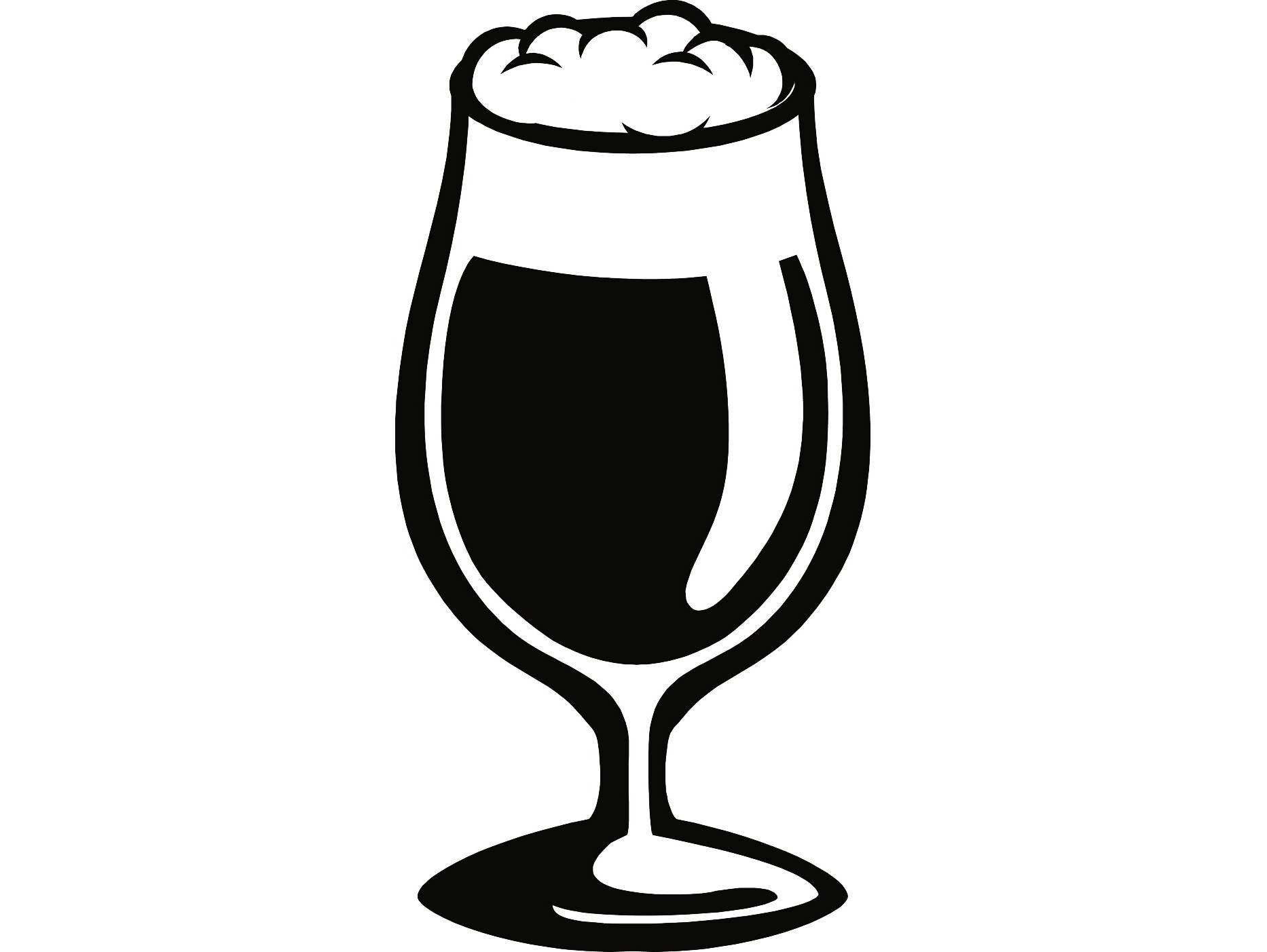 Beer Glass 3 Ale Suds Bar Pub Tavern Bartender Drink Alcohol