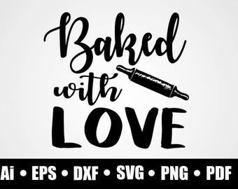 Download Baking svg dxf eps   Etsy