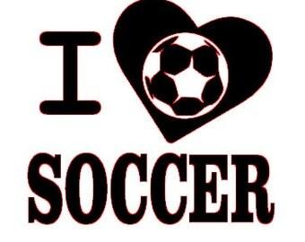 Download Love soccer svg | Etsy