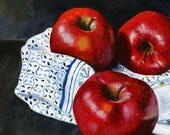 Apple Trio 5x7 Acrylic Pa...