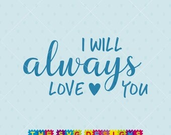 Download Love you always svg | Etsy