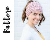 Kate Bun Beanie Crochet P...