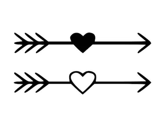 Download Heart Arrow SVG Heart Arrow Cut Files SVG Studio Studio3
