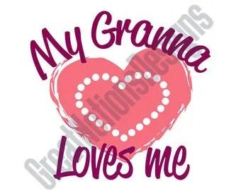 Download Love grandma svg   Etsy
