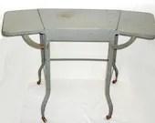 Vintage Gray Angled Typew...