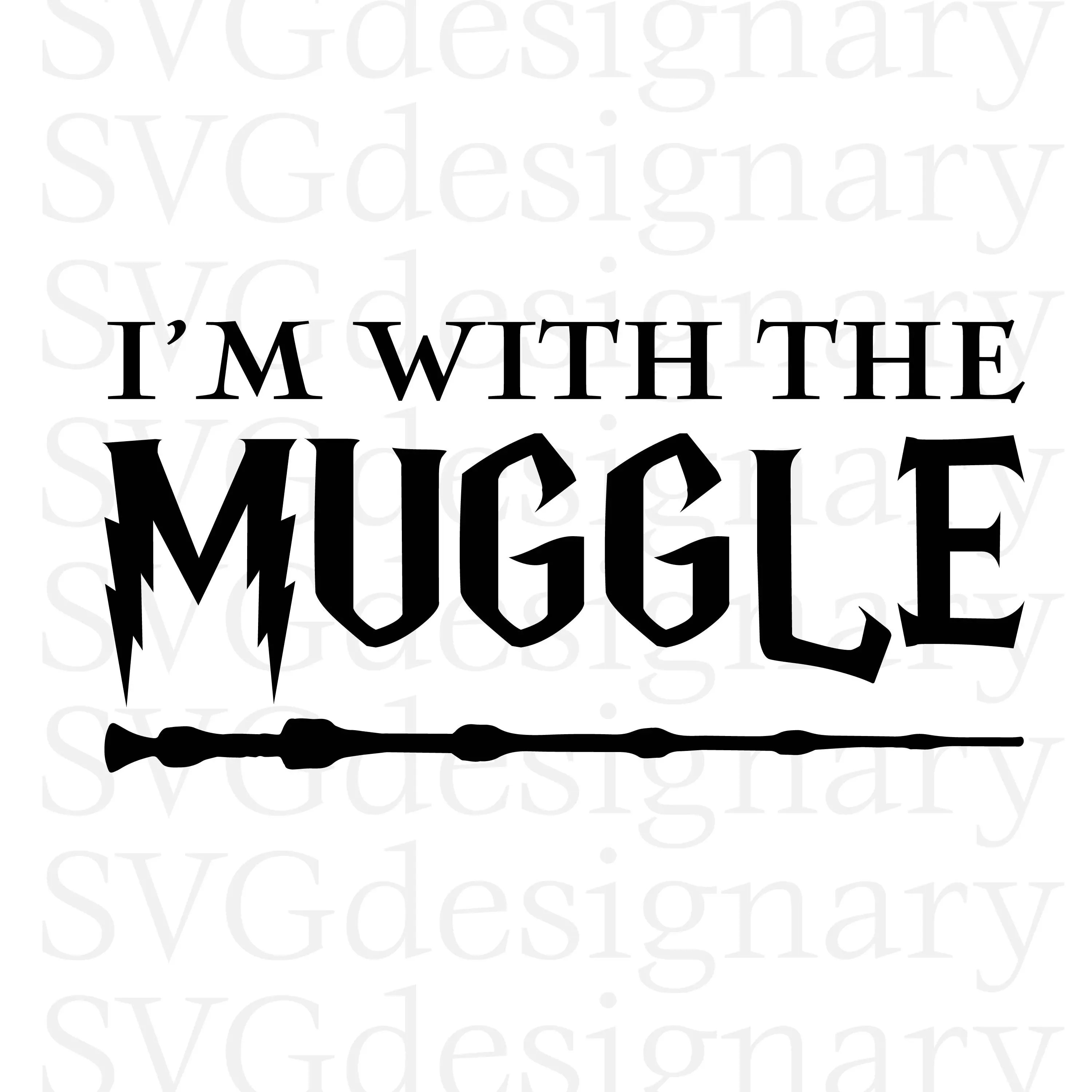 I M With The Muggle Harry Potter Series Elder Wand