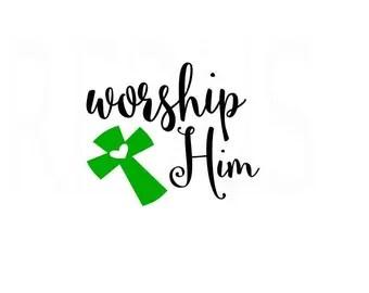 Download Worship svg | Etsy