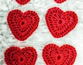 Big Crochet Valentine Hea...
