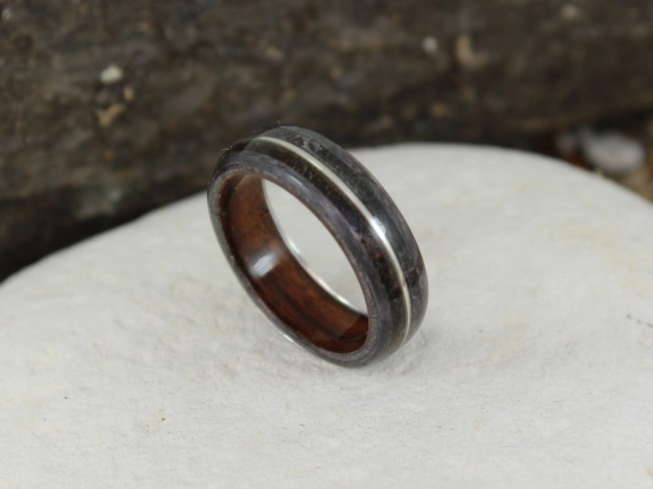 Wood Ring - Grey Maple & ...