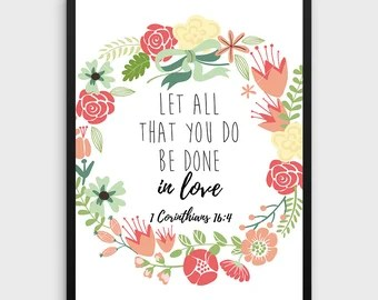Download 1 Corinthians 16:14 Let All That You Do Be Done in Love