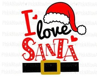 Download Santa svg | Etsy