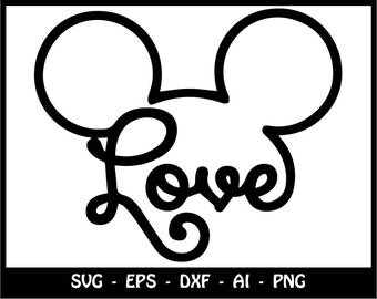 Download Mickey and Minnie svg disney svg love svg friends svg Mickey