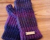 Knitted Fingerless Gloves...