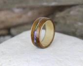 Hawaiian Koa Wood Ring wi...