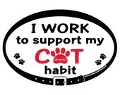 DECAL - I work to support...