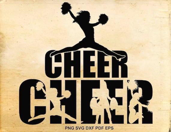 Download Cheerleader svg designs Cheerleader clipart Cheer svg files