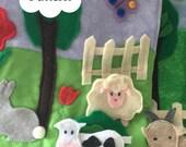 Farm Animals Quiet Book P...
