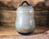 Ceramic Canister with Lid...