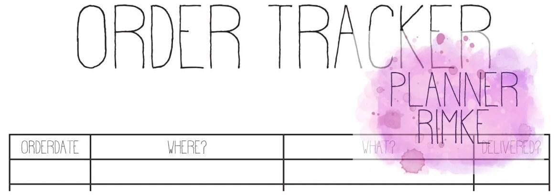 ENG - A5 - Order Tracker...