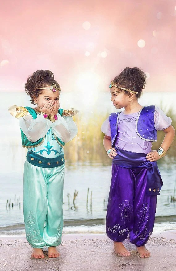 shimmer and shine halloween costume for twins