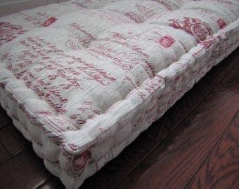 Custom Cushions Velvet Daybed Mattress French Mattress