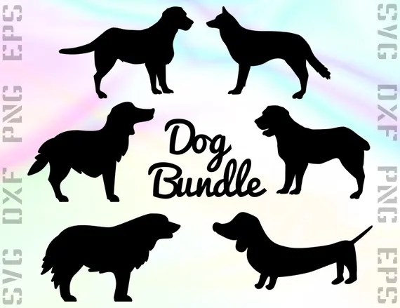 Download Dog SVG Files Puppy Dxf Files Dog Clipart Dog Cricut