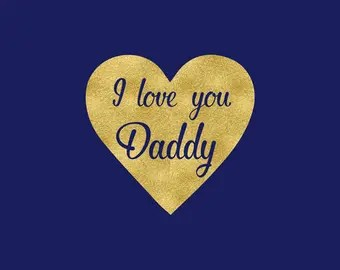 Download I love daddy svg | Etsy