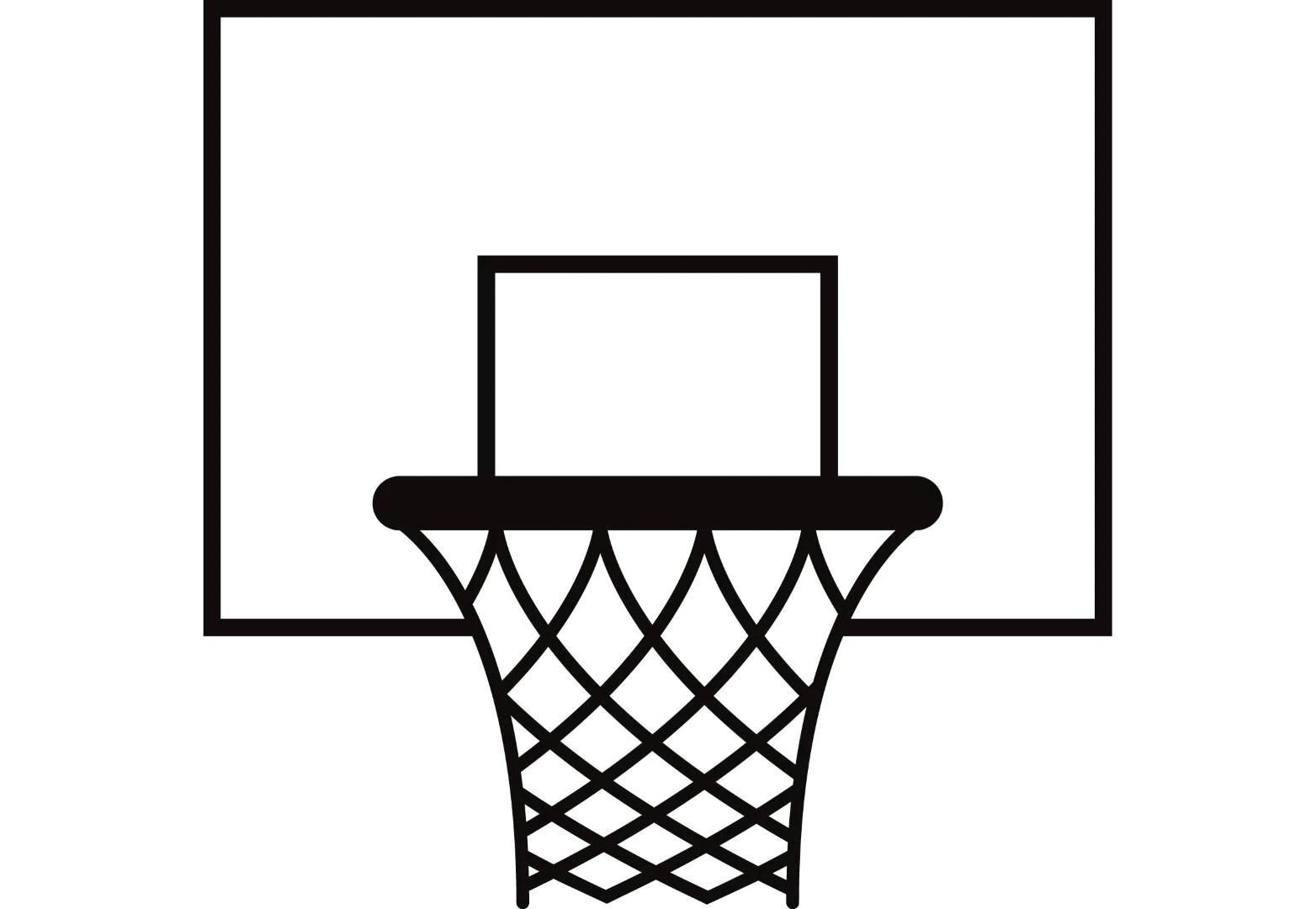 Basketball Hoop 1 Backboard Goal Rim Basket Net Sports Game Icon Logo G Eps Instant