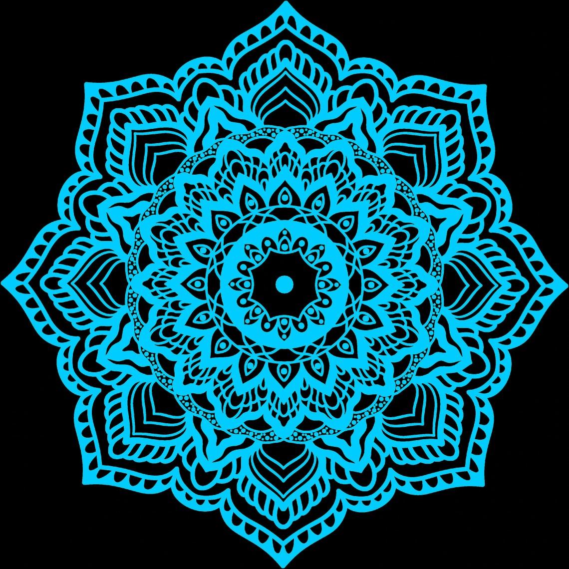 Download Mandala SVG.Mandala Drawing.Mandala vector clipart ...