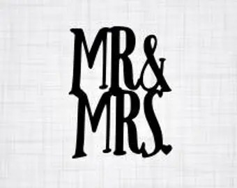 Download Mr and mrs svg | Etsy