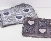 Woven fabric placemats, C...