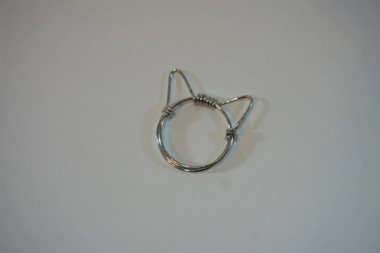 Wire Cat Ring, Cat Ears, ...