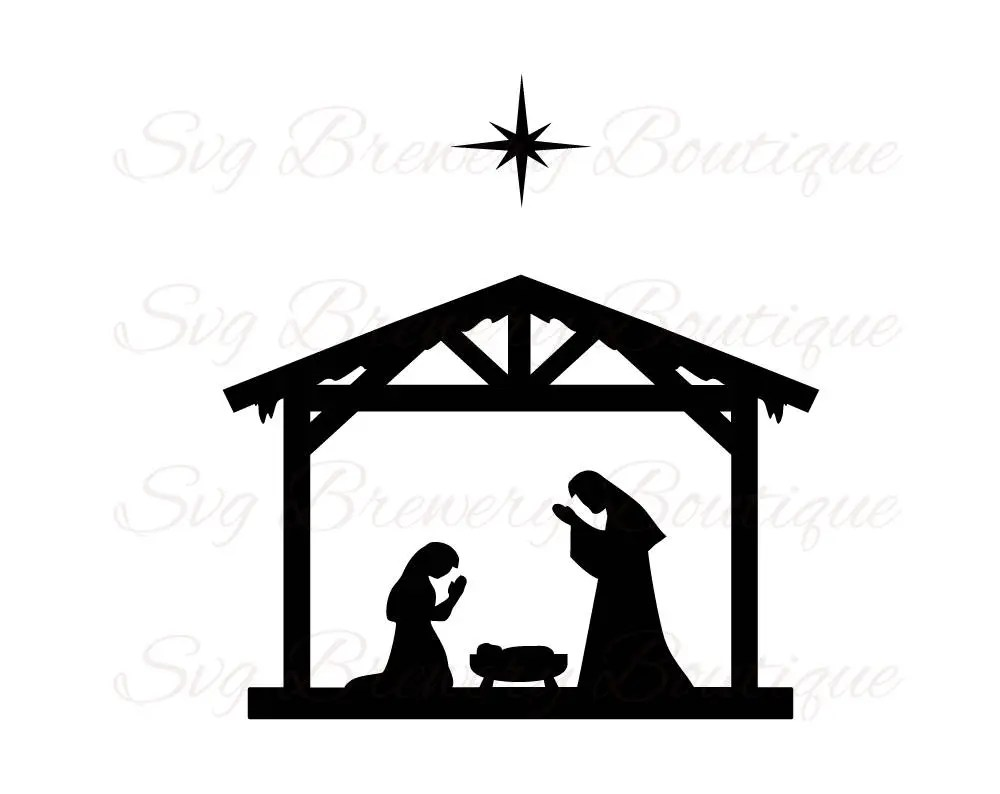 Download Nativity, three kings, 3 kings, Christmas, SVG, PNG, DXF ...