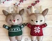 Holiday Deer Crochet Patt...