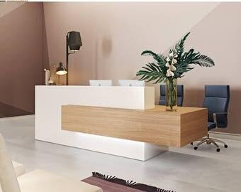Reception Lobby Front Desk Office Acrylic Office Decor Wall