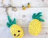 Pineapple Keychain Croche...
