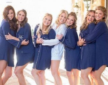 Image result for monogrammed button down bridesmaids shirt