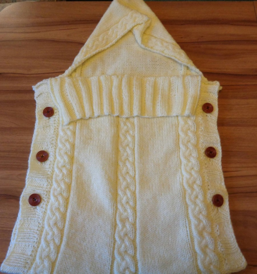 Knitted Baby Sleeping Bag...