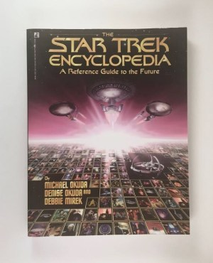Star Trek Encyclopedia Reference Guide to the Future Vintage