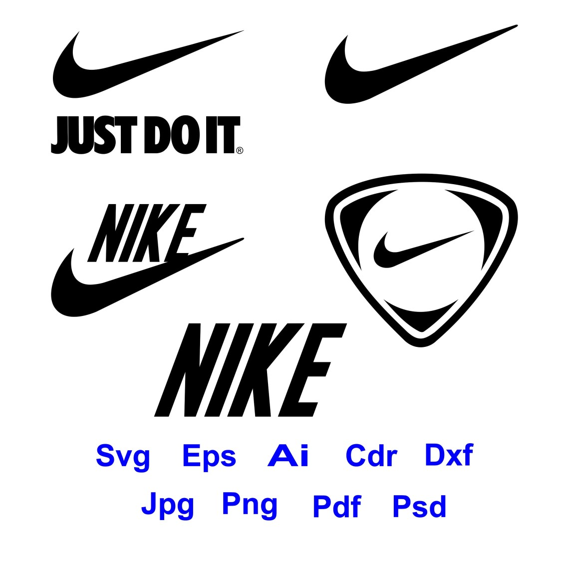 Download 70% off, Nike Svg, Nike Logo, just do it logo,pdf, dxf ...