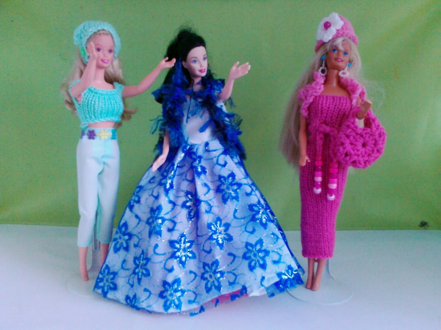 New handmade multi set - barbie/sindy dolls clothes  3 items in Multi Set Pack (10 items)           M 722   738     756    X    43