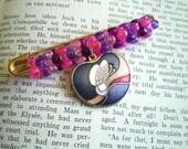 Purple Butterfly Lapel Pin