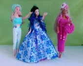 New Handmade clothes for barbie Set of 3 outfits  M125 x 43